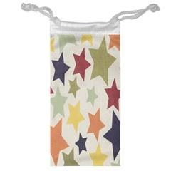 Star Colorful Surface Jewelry Bag