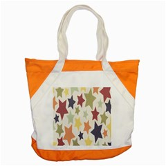 Star Colorful Surface Accent Tote Bag