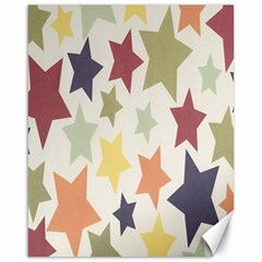 Star Colorful Surface Canvas 16  x 20
