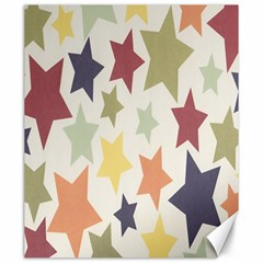 Star Colorful Surface Canvas 20  x 24