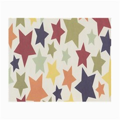 Star Colorful Surface Small Glasses Cloth (2 Side)