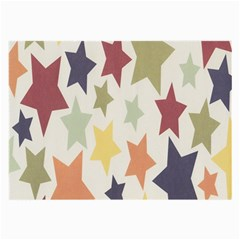 Star Colorful Surface Large Glasses Cloth