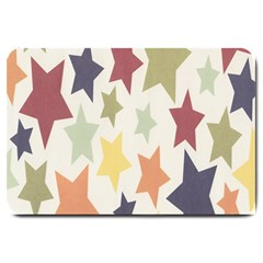 Star Colorful Surface Large Doormat