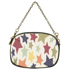 Star Colorful Surface Chain Purses (One Side)