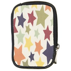 Star Colorful Surface Compact Camera Cases
