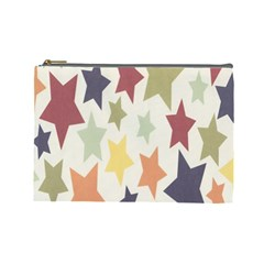 Star Colorful Surface Cosmetic Bag (Large)