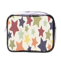 Star Colorful Surface Mini Toiletries Bags