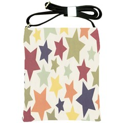 Star Colorful Surface Shoulder Sling Bags