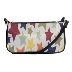 Star Colorful Surface Shoulder Clutch Bags