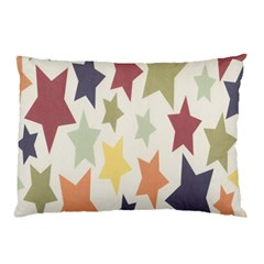 Star Colorful Surface Pillow Case (Two Sides)