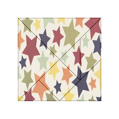 Star Colorful Surface Acrylic Tangram Puzzle (4  x 4 )