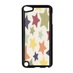 Star Colorful Surface Apple iPod Touch 5 Case (Black)