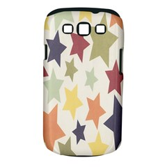 Star Colorful Surface Samsung Galaxy S III Classic Hardshell Case (PC+Silicone)