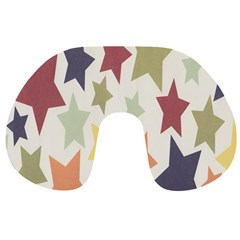 Star Colorful Surface Travel Neck Pillows