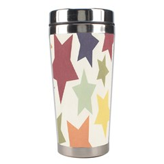Star Colorful Surface Stainless Steel Travel Tumblers