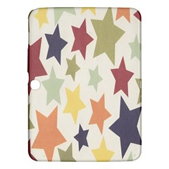 Star Colorful Surface Samsung Galaxy Tab 3 (10.1 ) P5200 Hardshell Case