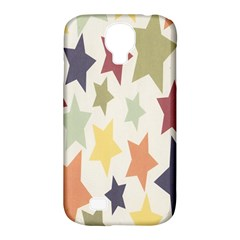 Star Colorful Surface Samsung Galaxy S4 Classic Hardshell Case (PC+Silicone)