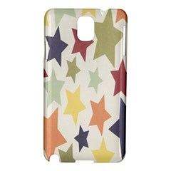 Star Colorful Surface Samsung Galaxy Note 3 N9005 Hardshell Case