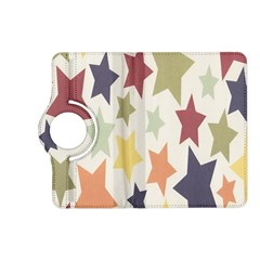Star Colorful Surface Kindle Fire HD (2013) Flip 360 Case