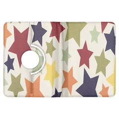 Star Colorful Surface Kindle Fire HDX Flip 360 Case