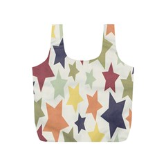 Star Colorful Surface Full Print Recycle Bags (S)