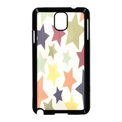 Star Colorful Surface Samsung Galaxy Note 3 Neo Hardshell Case (Black)