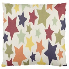 Star Colorful Surface Standard Flano Cushion Case (One Side)