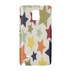 Star Colorful Surface Samsung Galaxy Note 4 Hardshell Case