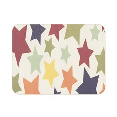 Star Colorful Surface Double Sided Flano Blanket (Mini)