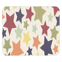 Star Colorful Surface Double Sided Flano Blanket (Small)