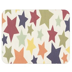 Star Colorful Surface Double Sided Flano Blanket (Medium)