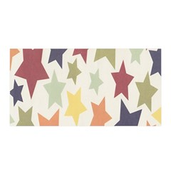 Star Colorful Surface Satin Wrap