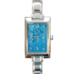 Surface Grunge Scratches Old Rectangle Italian Charm Watch