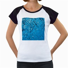 Surface Grunge Scratches Old Women s Cap Sleeve T