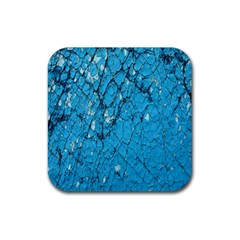 Surface Grunge Scratches Old Rubber Square Coaster (4 pack)