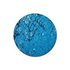 Surface Grunge Scratches Old Rubber Coaster (round)