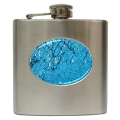 Surface Grunge Scratches Old Hip Flask (6 oz)