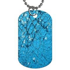 Surface Grunge Scratches Old Dog Tag (Two Sides)