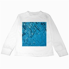 Surface Grunge Scratches Old Kids Long Sleeve T-Shirts