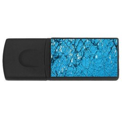 Surface Grunge Scratches Old USB Flash Drive Rectangular (4 GB)