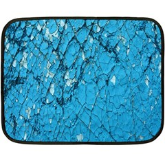 Surface Grunge Scratches Old Double Sided Fleece Blanket (Mini)