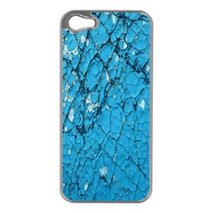 Surface Grunge Scratches Old Apple iPhone 5 Case (Silver)