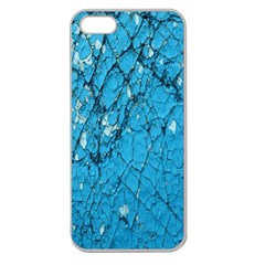 Surface Grunge Scratches Old Apple Seamless iPhone 5 Case (Clear)