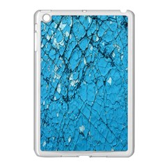 Surface Grunge Scratches Old Apple iPad Mini Case (White)