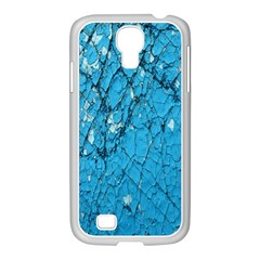 Surface Grunge Scratches Old Samsung GALAXY S4 I9500/ I9505 Case (White)