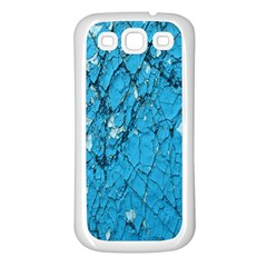 Surface Grunge Scratches Old Samsung Galaxy S3 Back Case (White)