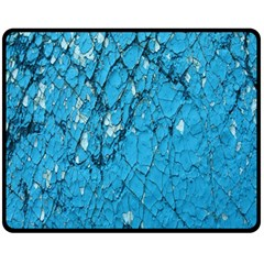 Surface Grunge Scratches Old Double Sided Fleece Blanket (Medium)