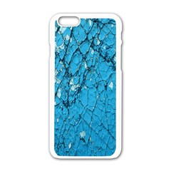 Surface Grunge Scratches Old Apple iPhone 6/6S White Enamel Case