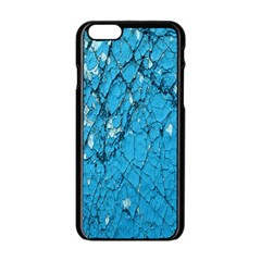 Surface Grunge Scratches Old Apple Iphone 6/6s Black Enamel Case