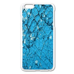 Surface Grunge Scratches Old Apple Iphone 6 Plus/6s Plus Enamel White Case